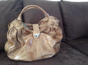 Burglar. Leder Tasche