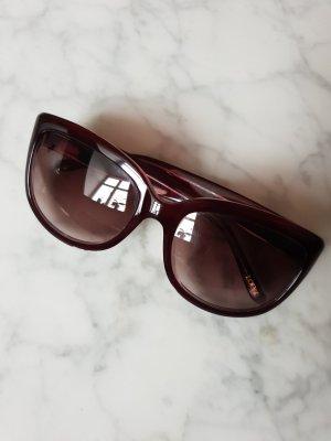 Burgundyrote LOEWE Sonnenbrille