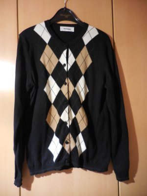 Burlington Chaleco de punto multicolor lana de esquila