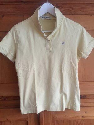 Burlington Polo-Shirt hellgelb, neuwertig Größe 36