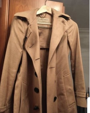 Burberry Trench Coat bronze-colored-brown cashmere