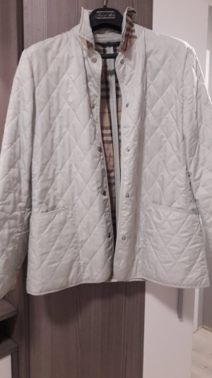 Burberry London Quilted Jacket sage green mixture fibre
