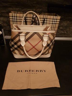 Burberry Shopper blanc