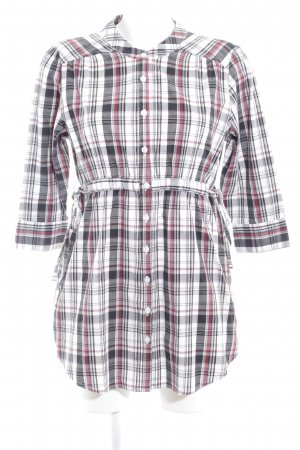Burton Blouse Dress glen check pattern elegant