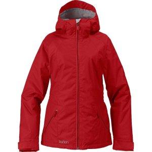 BURTON Damen Snowboardjacke red