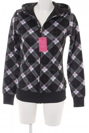 Burton Fleece Jackets check pattern athletic style