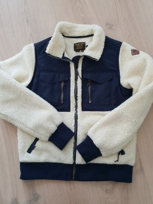 Burton Jacket cream-dark blue