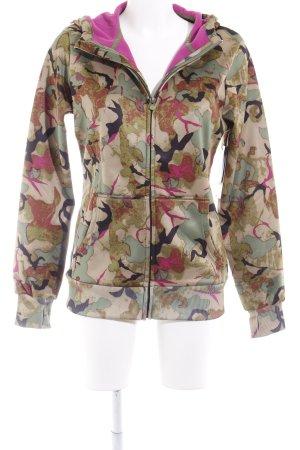 Burton Kapuzenjacke Camouflagemuster extravaganter Stil