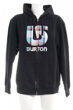 Burton Hoody themed print athletic style