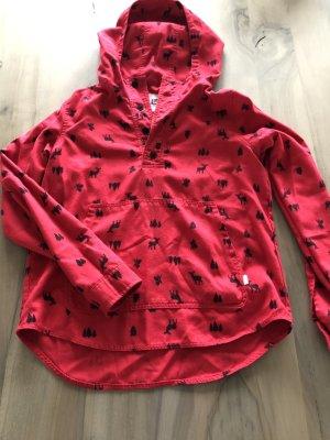 Burton Hooded Sweater red