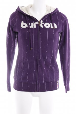 Burton Kapuzenpullover dunkelviolett Casual-Look