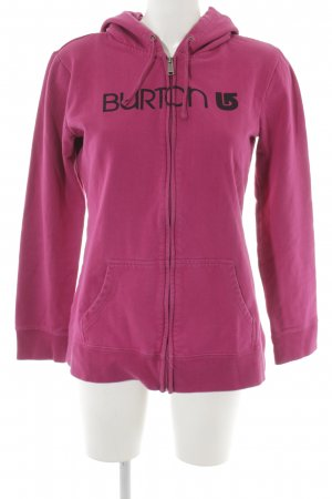 Burton Kapuzensweatshirt violett Casual-Look