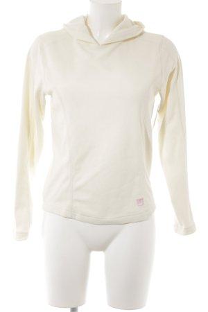 Burton Kapuzensweatshirt wollweiß-rosa Casual-Look