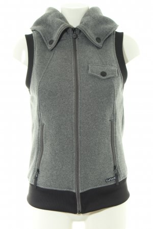 Burton Hooded Vest light grey-black casual look