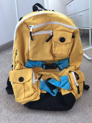 Burton Rucksack in Gelb/Blau