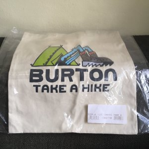 Burton simple tote Take a Hike