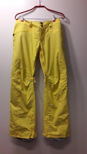 Burton Snow Pants yellow synthetic fibre
