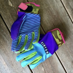 Burton Gloves multicolored