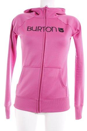 Burton Sportjacke pink sportlicher Stil