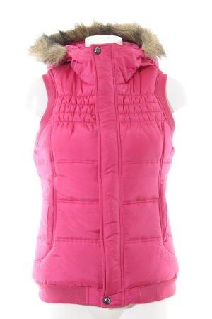 Burton Steppweste pink Casual-Look