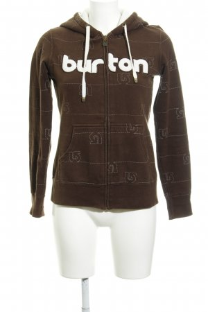 Burton Sweat Shirt dark brown casual look