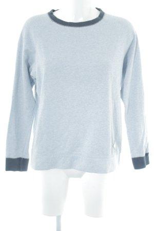 Burton Sweatshirt himmelblau-dunkelblau Casual-Look