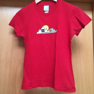 Burton T-Shirt red cotton
