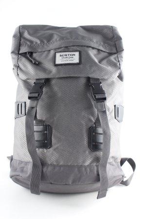 Burton Trekking Backpack grey-dark grey check pattern skater style