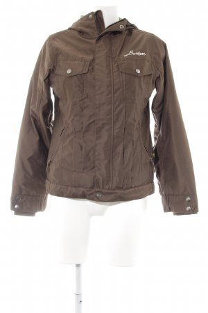 Burton Between-Seasons Jacket brown-green simple style