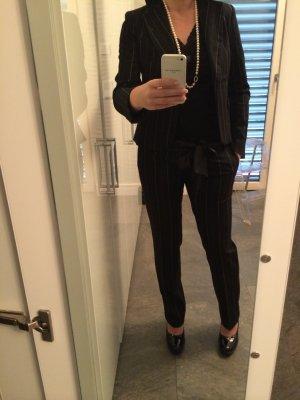 Ladies' Suit black-anthracite polyester
