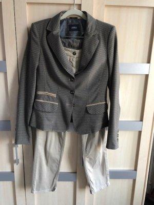 Orwell Pantalon de costume multicolore coton