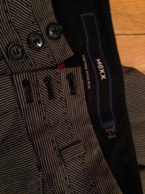 Mexx Costume business gris-noir coton