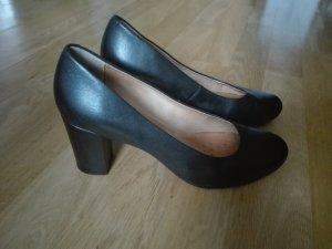 Geox Chaussure de travail noir cuir