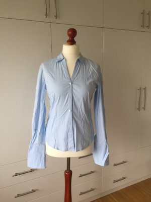 Business Bluse babyblau
