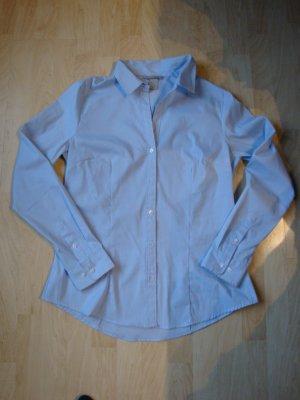 Business- Bluse von H&M hellblau, Gr. 42