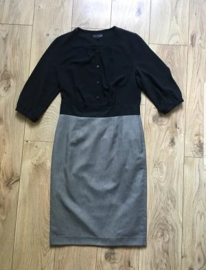 Blouse Dress black-grey