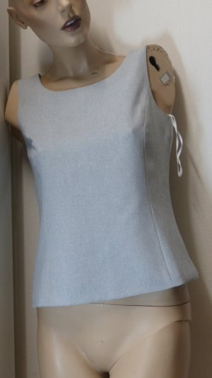 Best Connections Blouse Top light grey polyester