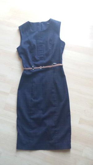 Business Bodycon Kleid mit Gürtel/Neu
