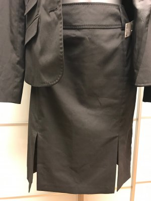Brunetti Business Suit black polyester