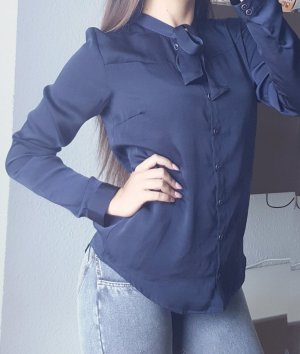 Business Esprit Bluse blau