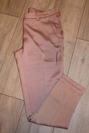 Pantalón de pinza rosa empolvado