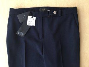 1.2.3 Paris Stretch broek blauw Textielvezel