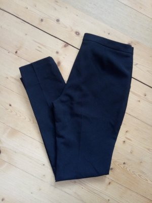 Business Hose Stoffhose Schwarz Bundfaltenhose 38 40 Businesshose