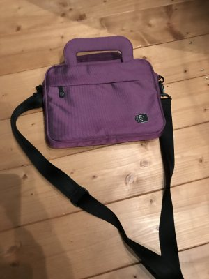 Laptop bag violet