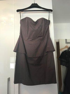 H&M Vestido bustier multicolor