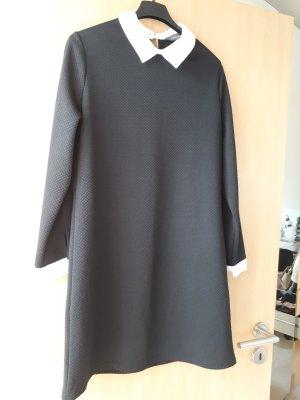 Primark Abito blusa camicia bianco-nero