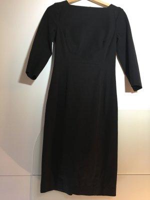 Banana Republic Sheath Dress black mixture fibre