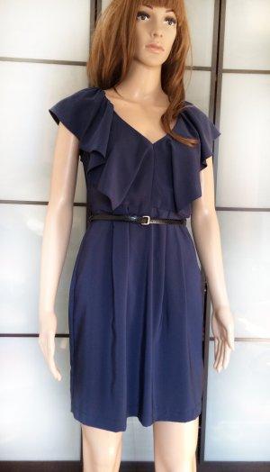 H&M Balloon Dress dark blue