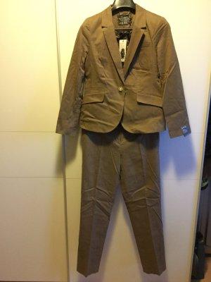 Business Kombi: Braune Anzughose - passender Blazer & Rock separat erhältlich