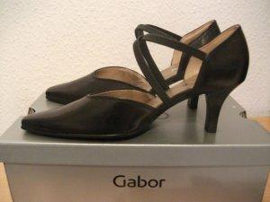 Business Leder Pumps von Gabor, Gr. 3,5 (36/37), schwarz - NEU